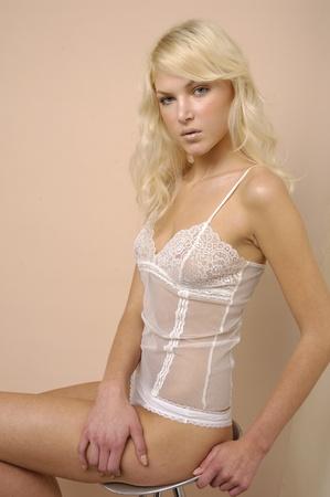 Sexy underwear model  photo