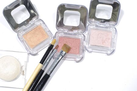 Palettes and brushes