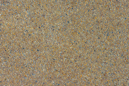 Small sand stone of sand wall texture or sand wall background. flor background texture. wash gravel, wash stone Stock Photo