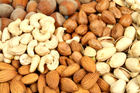 mixture: Mixture of nuts and almonds.  cuisine.