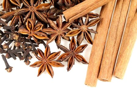 aniseed: Herbs and spices - aniseed, cinnamon and other ingredients