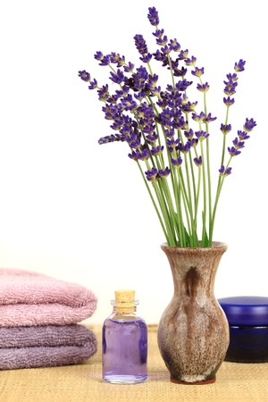 Lavender composition - spa and wellness resort