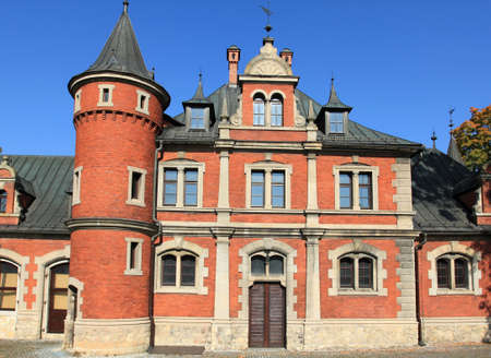 Palace in Plawniowice - old landmark in Poland. Upper Silesia region. Stock Photo - 8587620