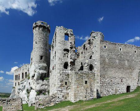 Ogrodzieniec castle - old ruin in Poland. Landmark in Europe. Stock Photo - 9639871