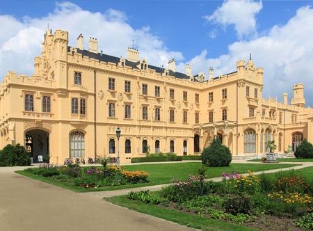 Castle Lednice in Moravia, Czech Republic. photo