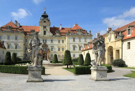 ornated: Castello di Valtice, Moravia meridionale. Centro Nazionale del Vino Repubblica Ceca