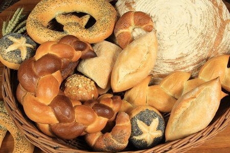 Different kinds of bread. Traditional baked  from Poland. Stock Photo - 10802152