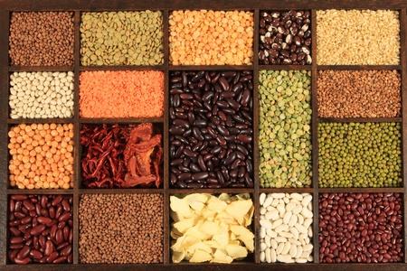 leguminosas: Cocina elección. Ingredientes de cocina. Los frijoles, guisantes, lentejas.