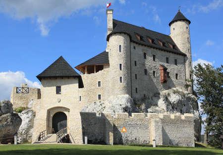 Bobolice castle - old fortress in Poland. Landmark in Europe. Stock Photo - 12462856