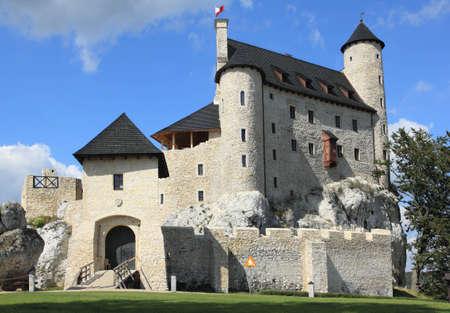 Bobolice castle - old fortress in Poland. Landmark in Europe. Stock Photo - 12462856