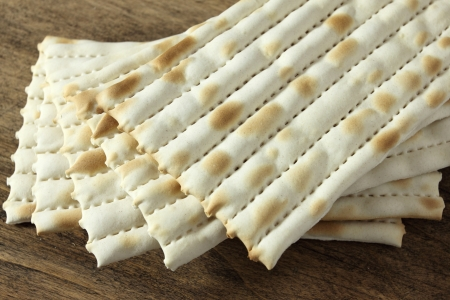 matzo: Matzo - jewish passover bread Stock Photo