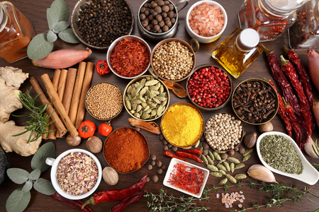 fragrant: Spices and herbs.