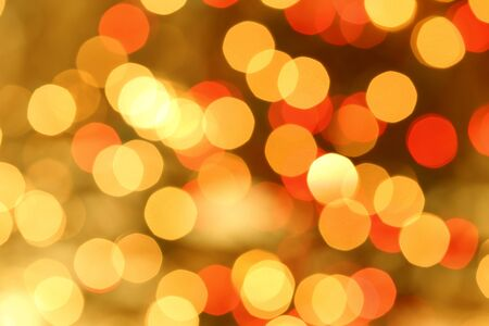 atmosphere: Christmas holiday lights bokeh background.