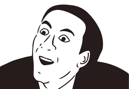 guy meme face for any design.