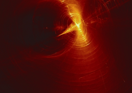 abstract glowing digital fractal light design background. Stock Photo