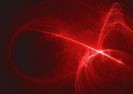 abstract glowing digital fractal light design background