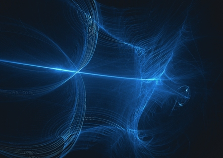 abstract fractal glow light art design background.