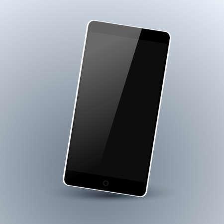 are modern: Modern smartphone Illustration