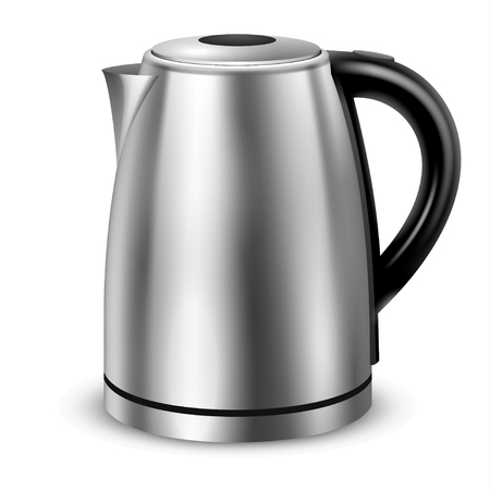 Realistic illustration of electric kettle, vector format