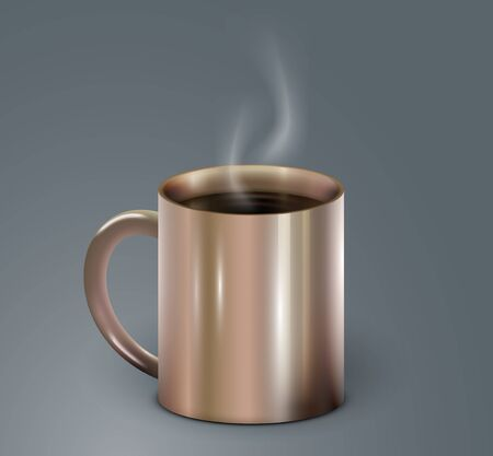 cofee cup: High detailed realistic cofee cup. Vector Illustration Illustration