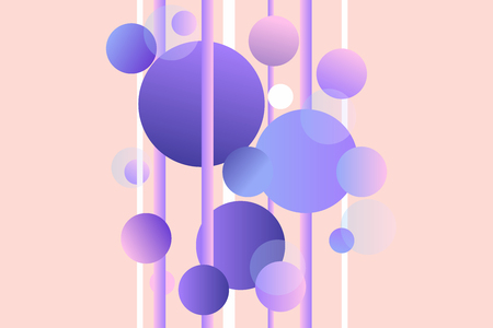Vector gradient background  Abstract design. Illustration