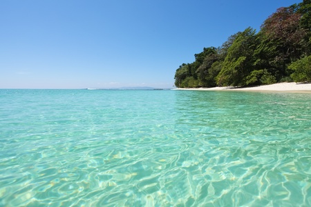 Beach on Havelock island, India Standard-Bild