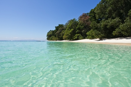 Island of Havelock on Andaman and Nicobar islands photo