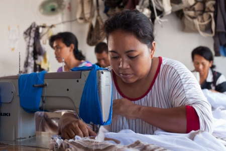 underpaid: small textile factory