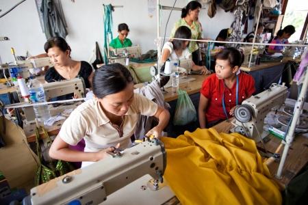 kleine Textilfabrik