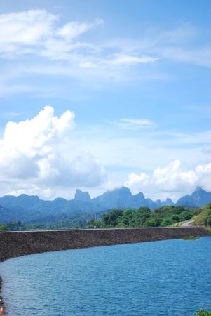 barrage: barrage in Thailand