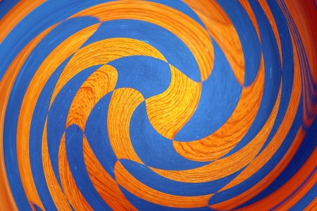 Orange and blue graphic design abstract 写真素材
