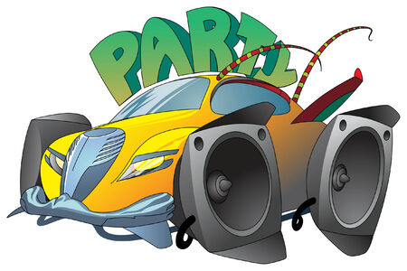 engeneering: A Car Built for Party!