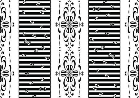 혼합 스타일 패턴 - 바로크와 현대적인 패턴
