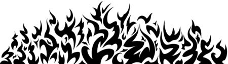 Firewall Tattoo Tribal Pattern Vector