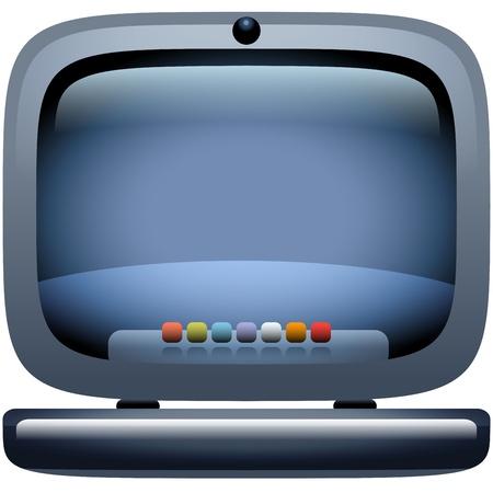 online logo: Laptop Computer Icon
