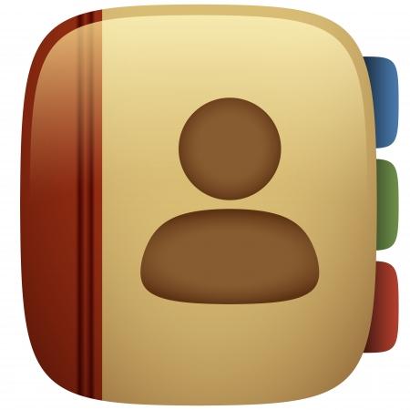 Address Book Icon Illustration