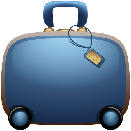 Suitcase Icon Stock Vector - 13986000