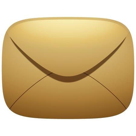 Mail Envelope Icon Illustration