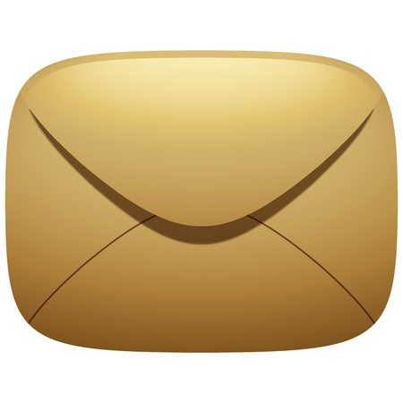 Mail Envelope Icon Illustration