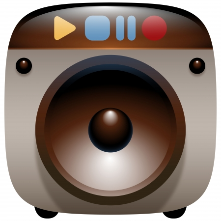electronic device: Audio Speaker Icon