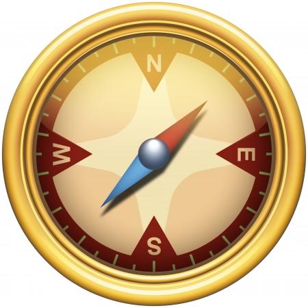 logo voyage: Compass Icône