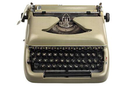 word processor: Vintage Writers Typewriter  with Latin European Script Keys