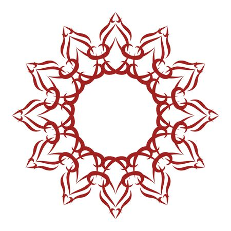 cutwork: Charming and Delicate Star Illustration