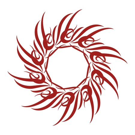 Tribal Sun Vector