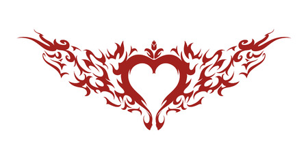 Love in Blaze Vector