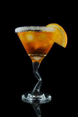 orange martini drink Stock Photo - 14554848