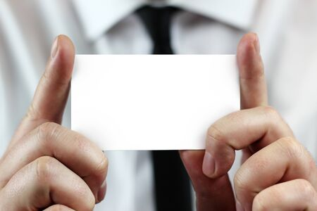 show business: business card