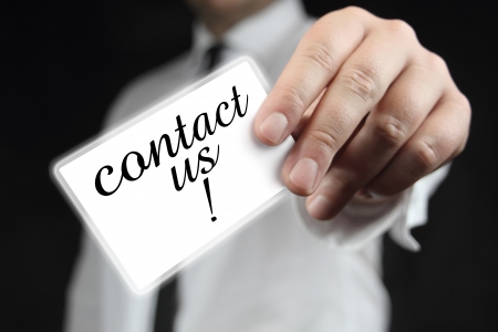 contact us Stock Photo - 14585345