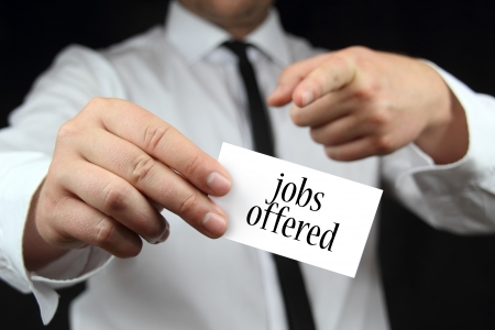 offered: jobs offered