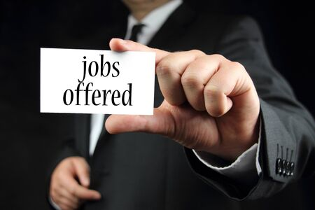 jobs offered Stock Photo - 14605572